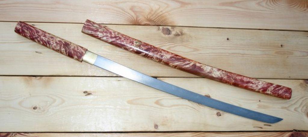 Вакидзаши ширасая - японский малий мечь